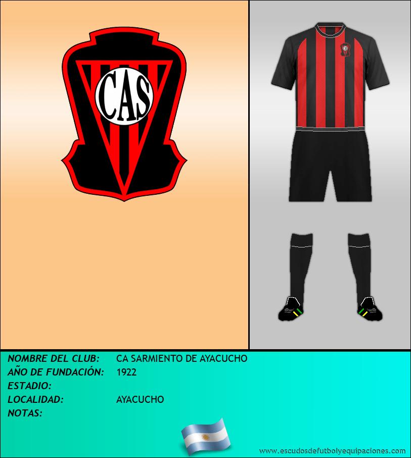 Escudo de CA SARMIENTO DE AYACUCHO