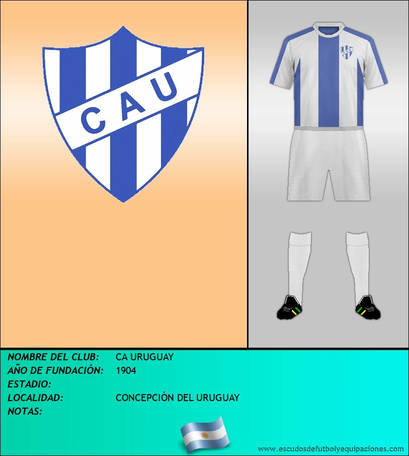 Escudo de CA URUGUAY