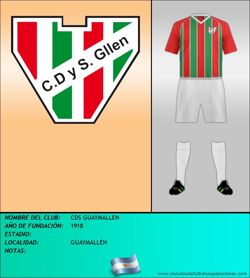 Escudo de CDS GUAYMALLEN