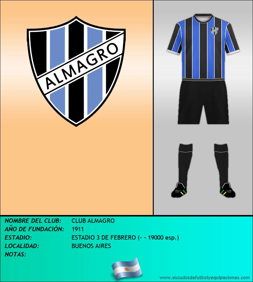 Escudo de CLUB ALMAGRO