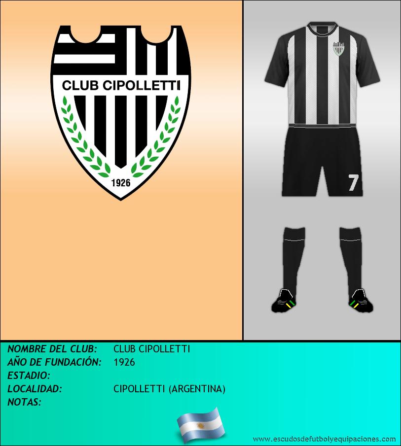 Escudo de CLUB CIPOLLETTI