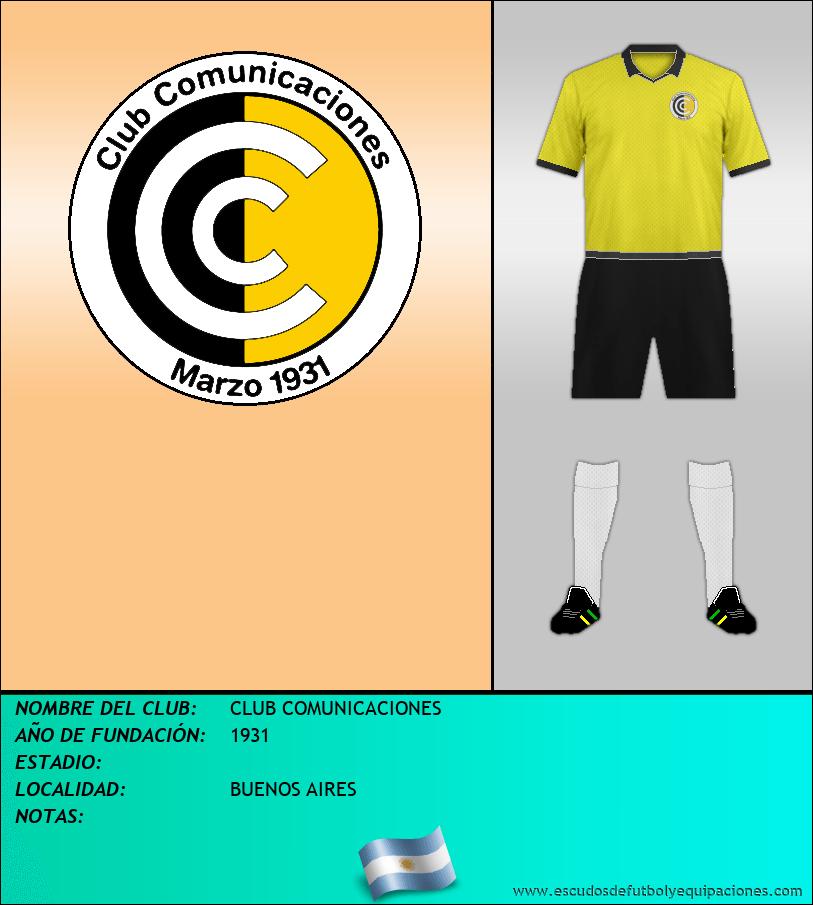 Escudo de CLUB COMUNICACIONES