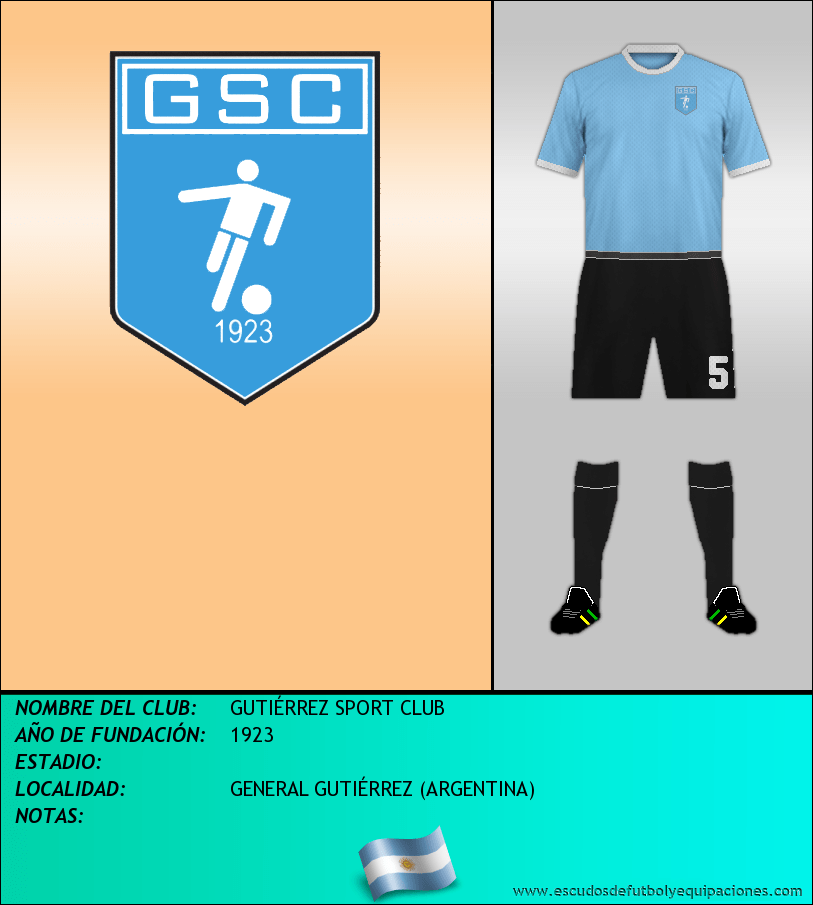 Escudo de GUTIÉRREZ SPORT CLUB