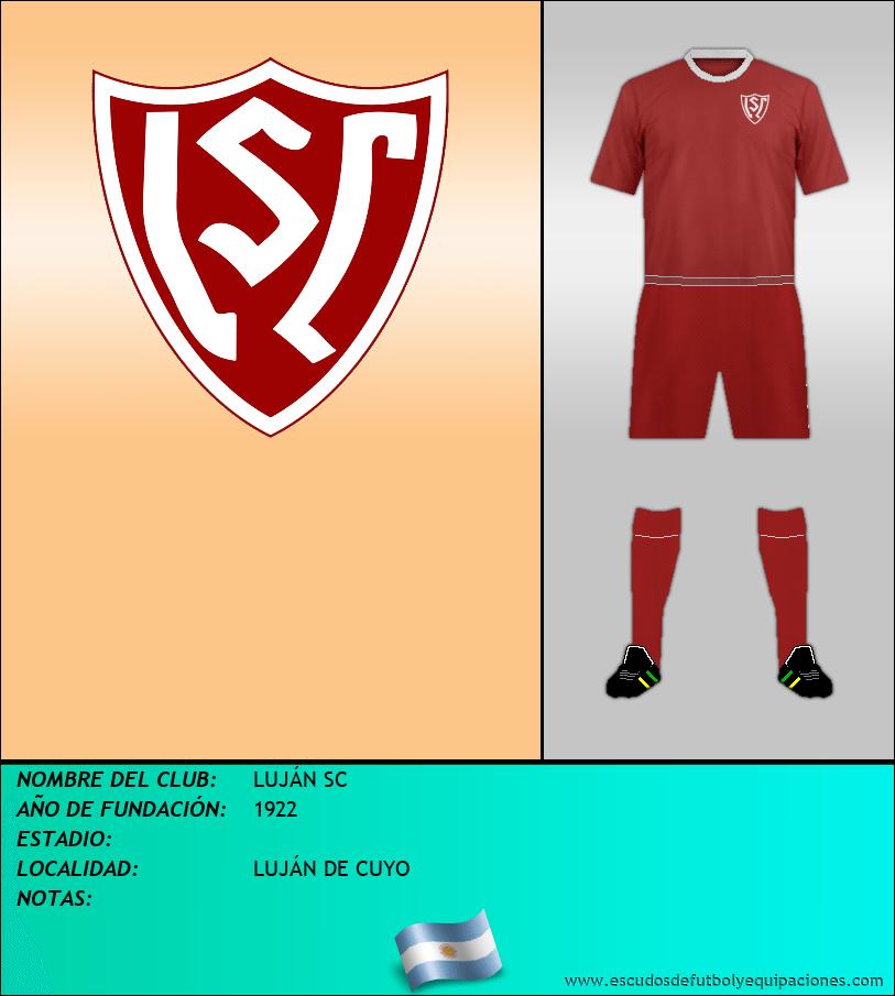 Escudo de LUJÁN SC