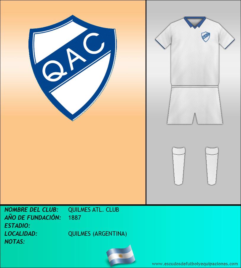 Escudo de QUILMES ATL. CLUB