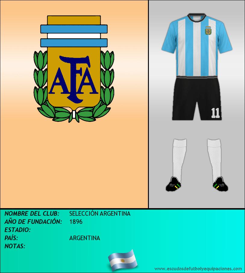 Escudo de SELECCIÓN ARGENTINA