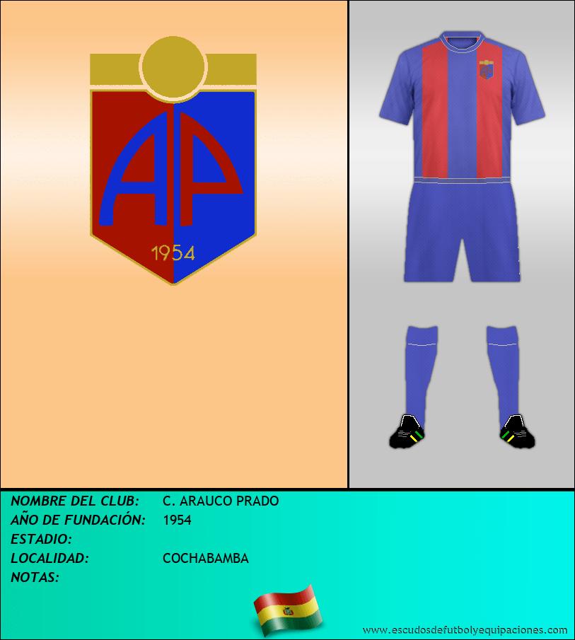 Escudo de C. ARAUCO PRADO