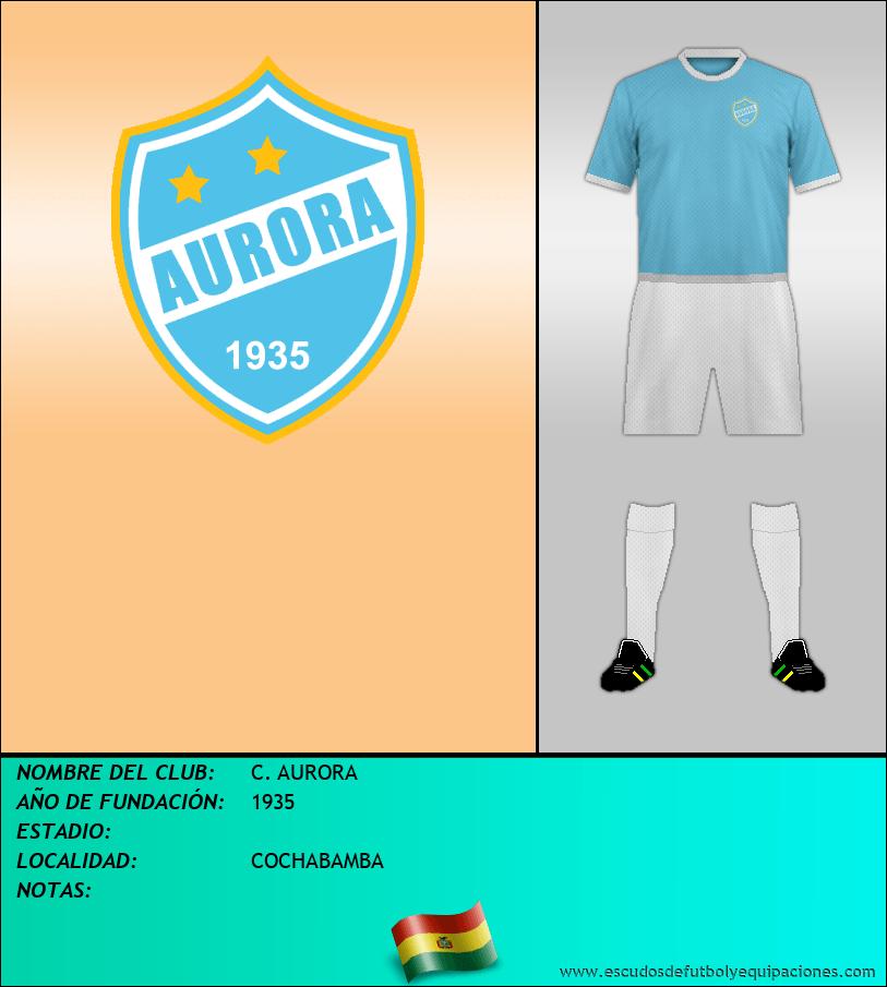 Escudo de C. AURORA