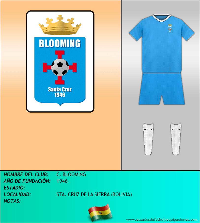 Escudo de C. BLOOMING