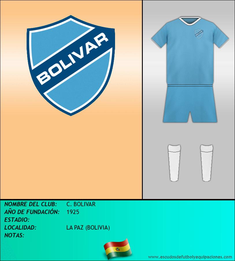 Escudo de C. BOLIVAR