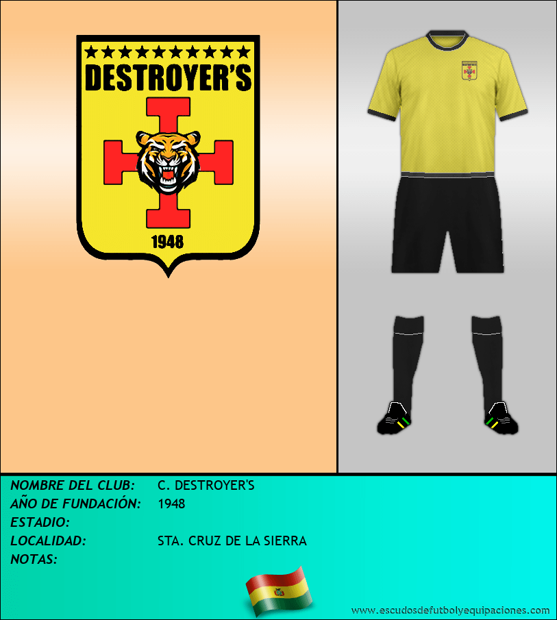 Escudo de C. DESTROYER'S