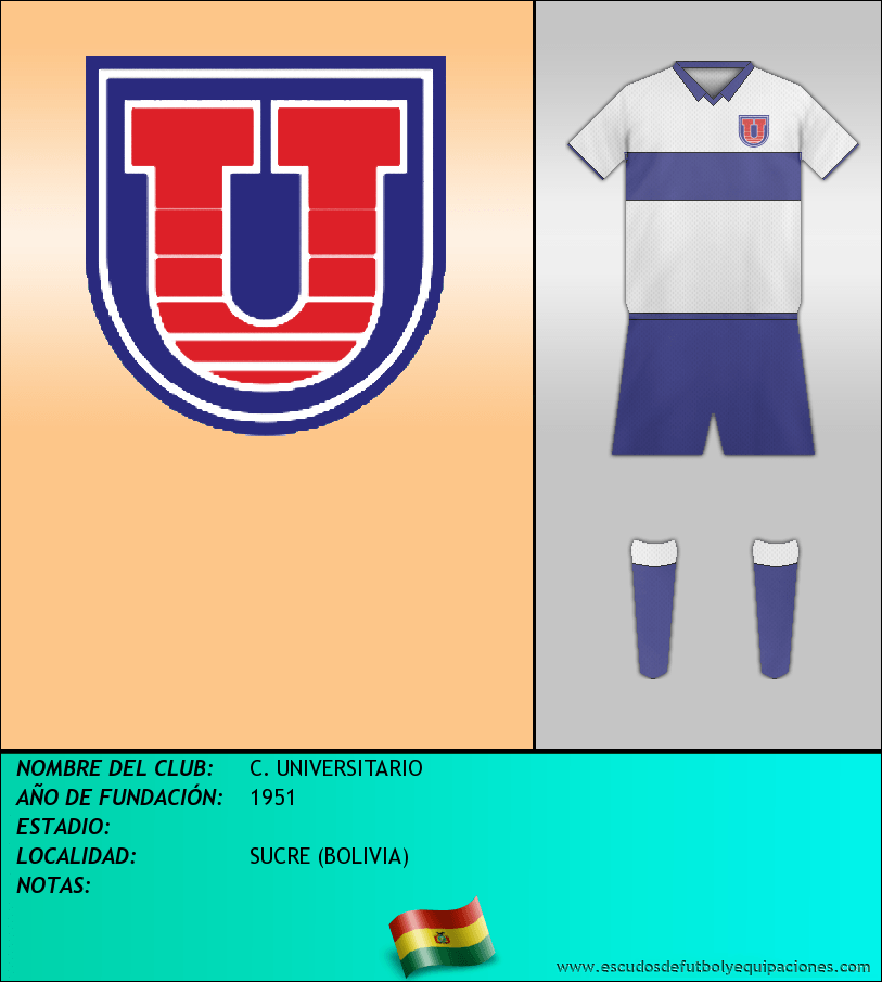 Escudo de C. UNIVERSITARIO