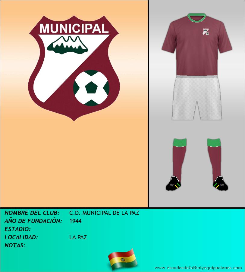 Escudo de C.D. MUNICIPAL DE LA PAZ