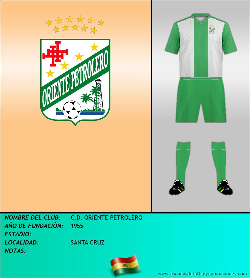 Escudo de C.D. ORIENTE PETROLERO