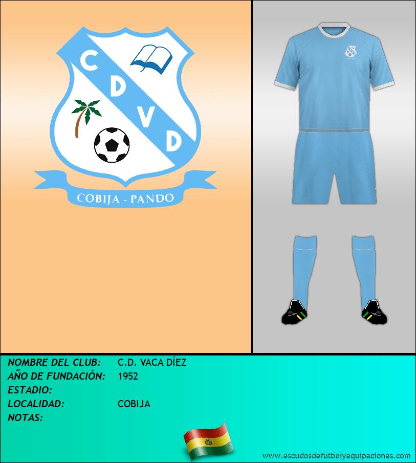 Escudo de C.D. VACA DÍEZ