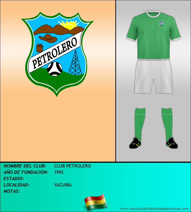 Escudo de CLUB PETROLERO