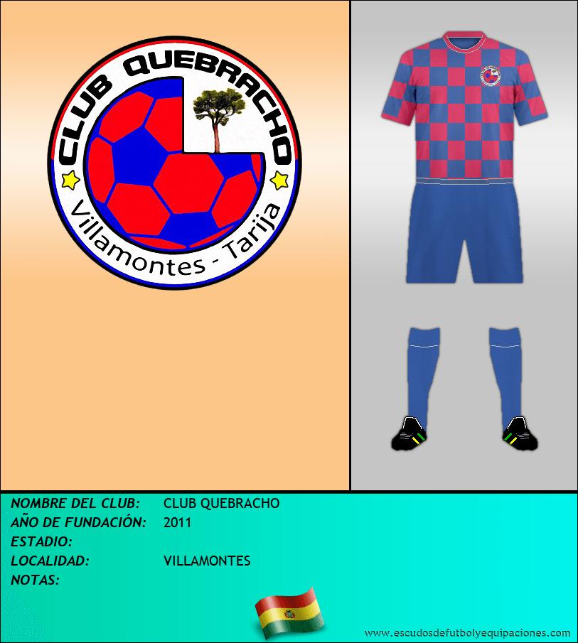 Escudo de CLUB QUEBRACHO