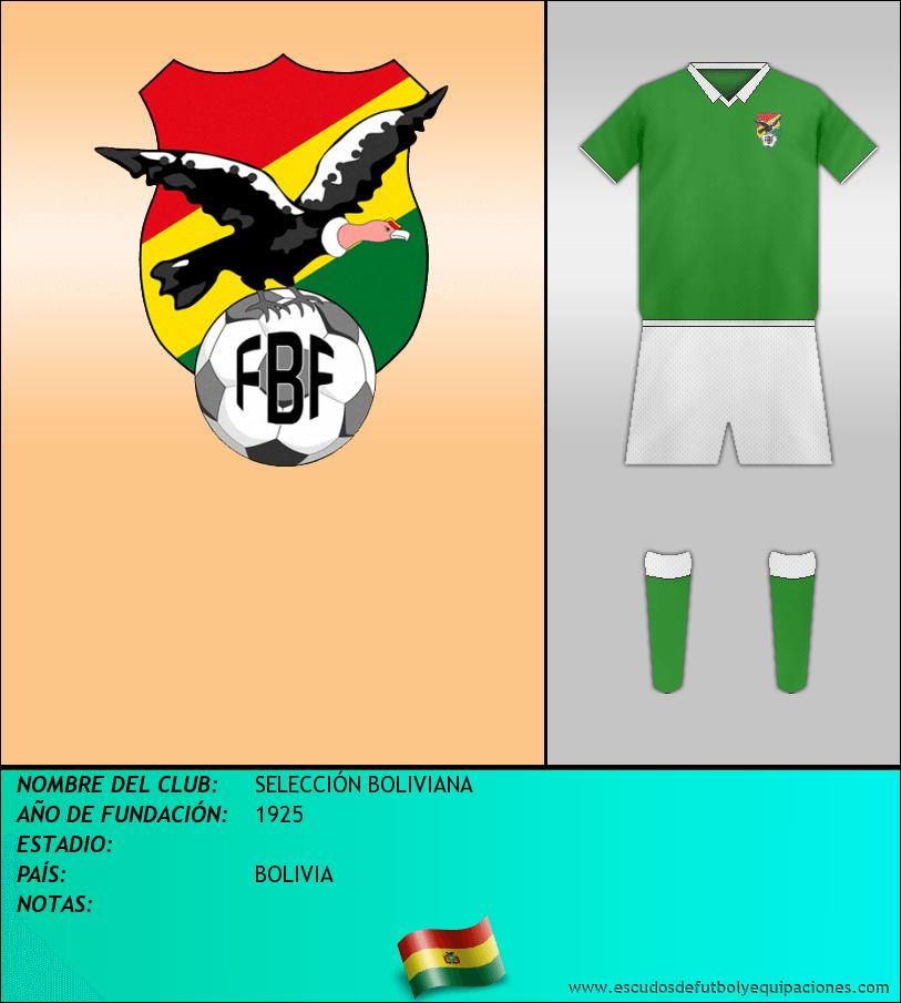 Escudo de SELECCIÓN BOLIVIANA