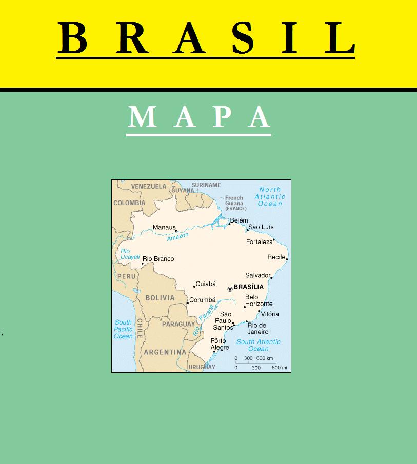 Escudo de MAPA DE BRASIL