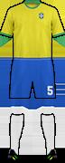 Camiseta SELEÇÃO BRASIL DE FUTEBOL