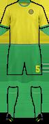 Equipación YPIRANGA F.C.
