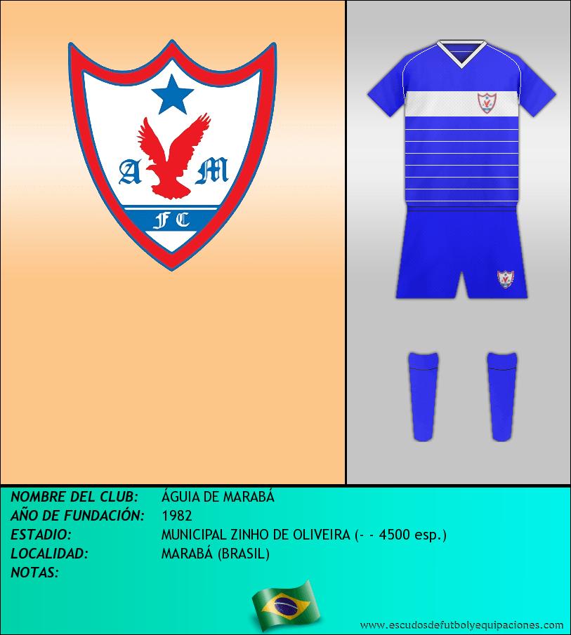 Escudo de ÁGUIA DE MARABÁ