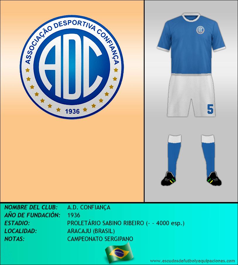 Escudo de A.D. CONFIANÇA