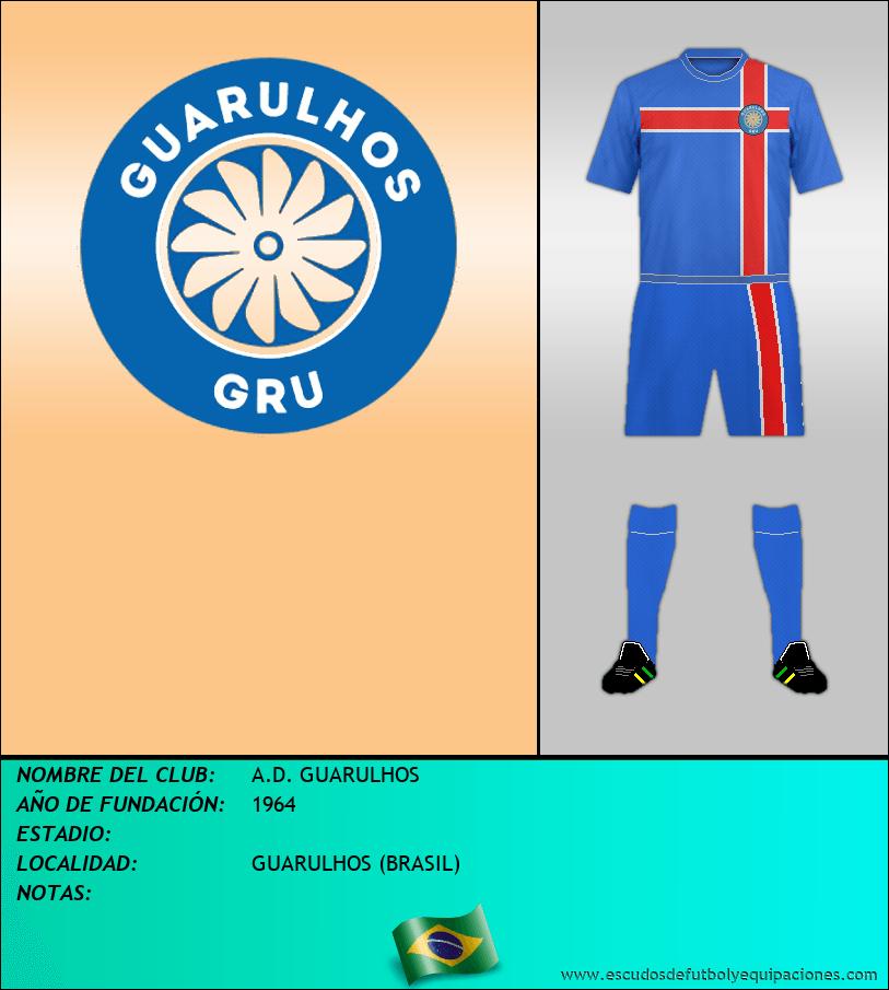 Escudo de A.D. GUARULHOS