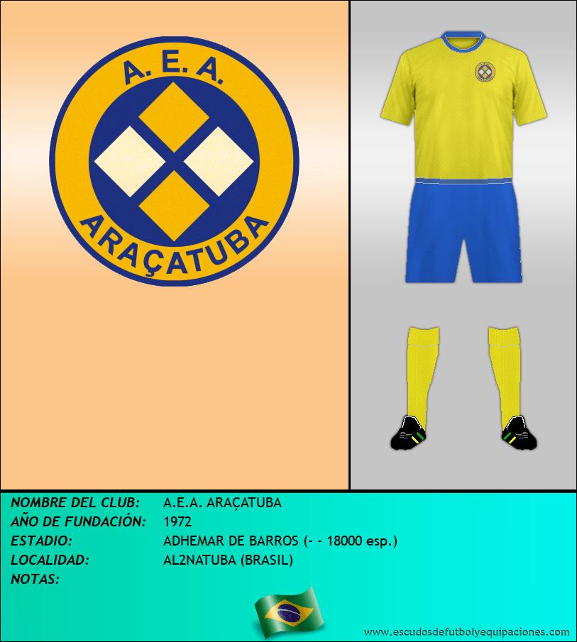 Escudo de A.E.A. ARAÇATUBA