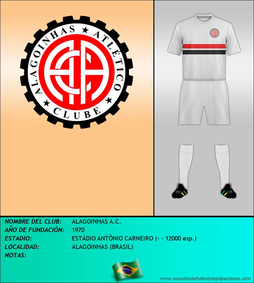 Escudo de ALAGOINHAS A.C.