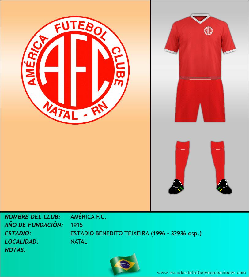 Escudo de AMÉRICA F.C.