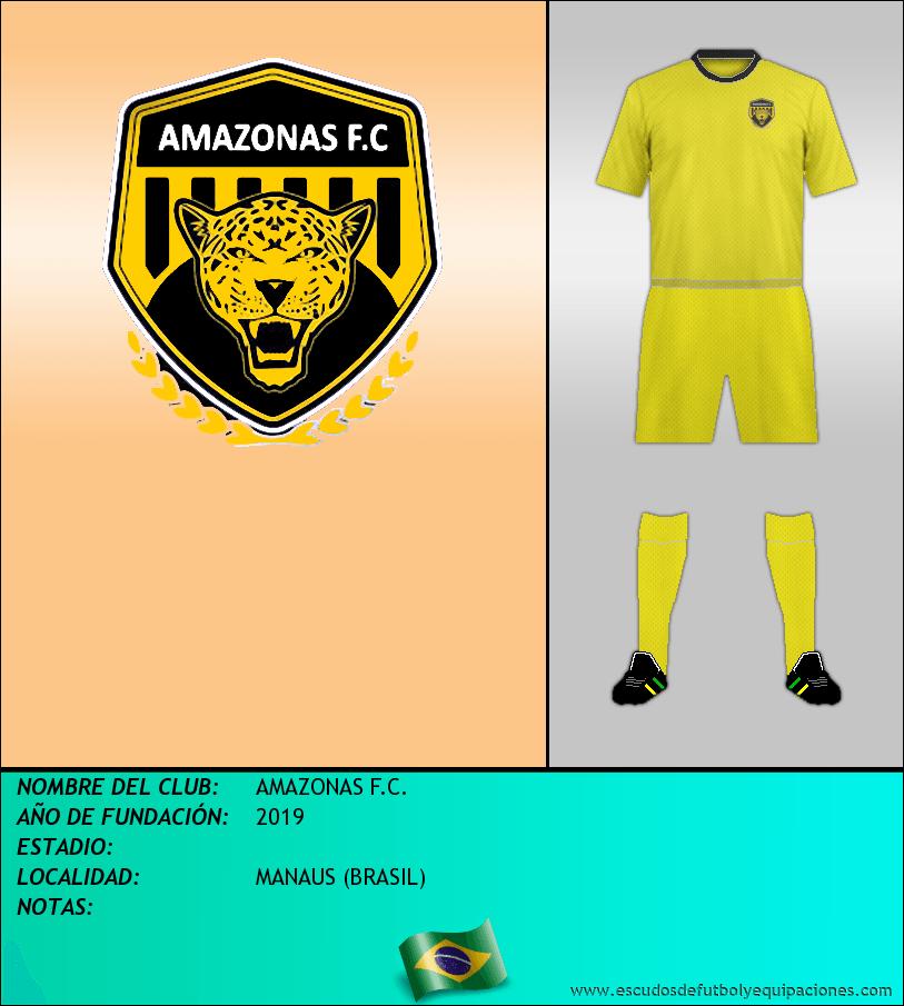 Escudo de AMAZONAS F.C.