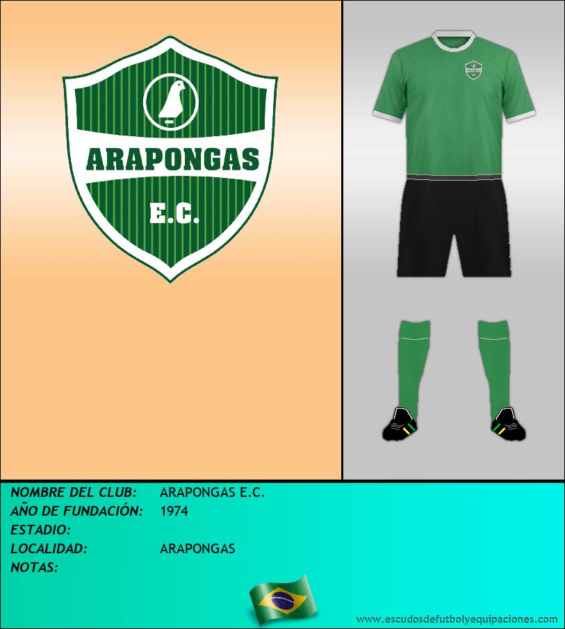 Escudo de ARAPONGAS E.C.