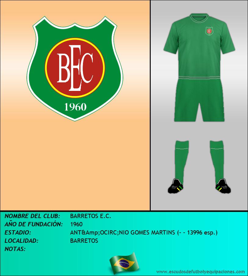 Escudo de BARRETOS E.C.
