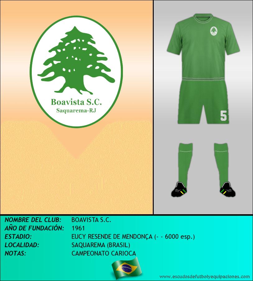 Escudo de BOAVISTA S.C.