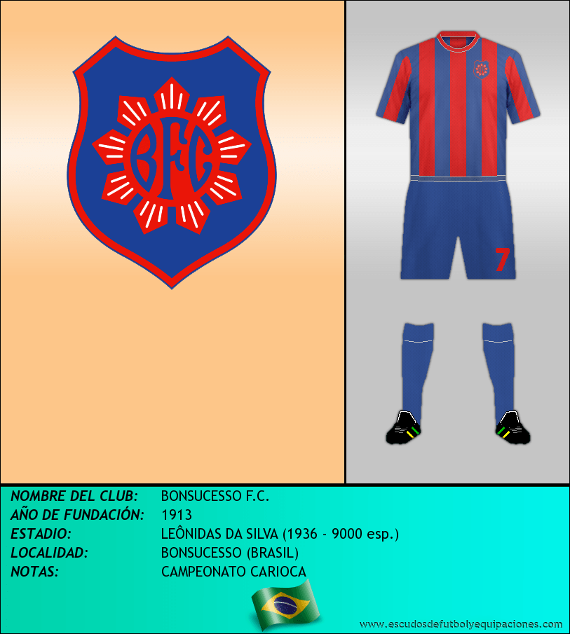 Escudo de BONSUCESSO F.C.