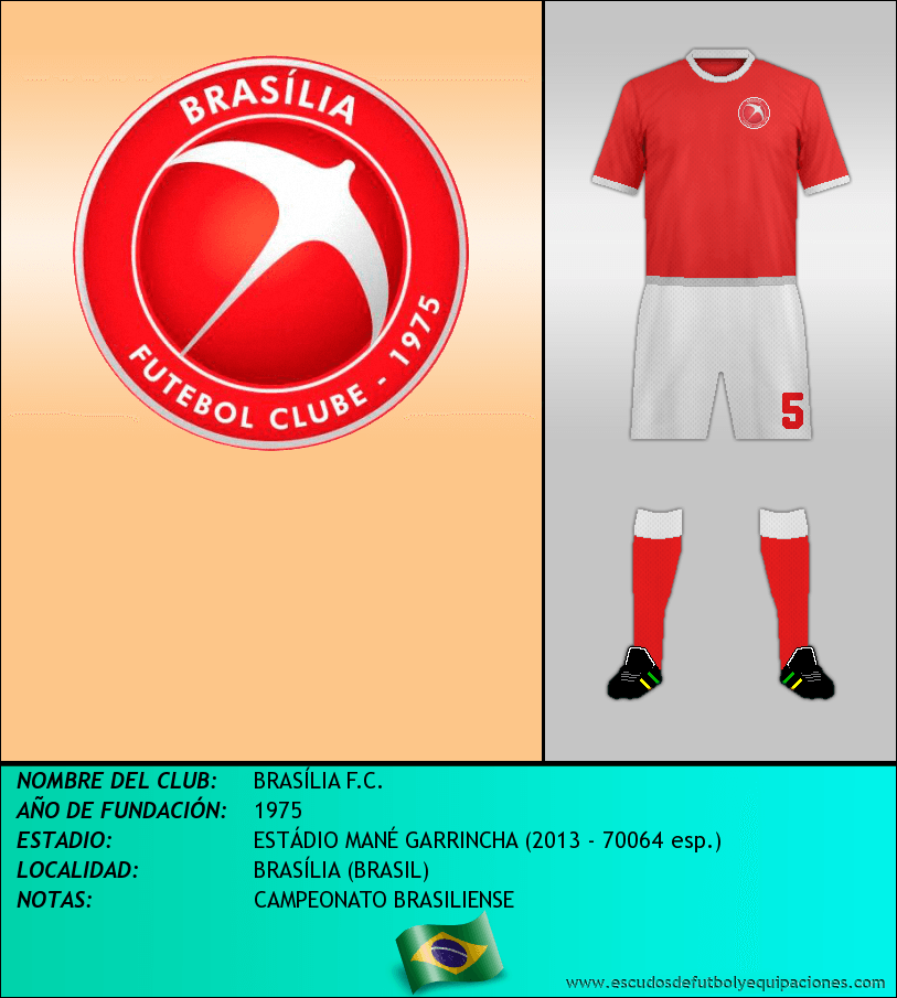 Escudo de BRASÍLIA F.C.