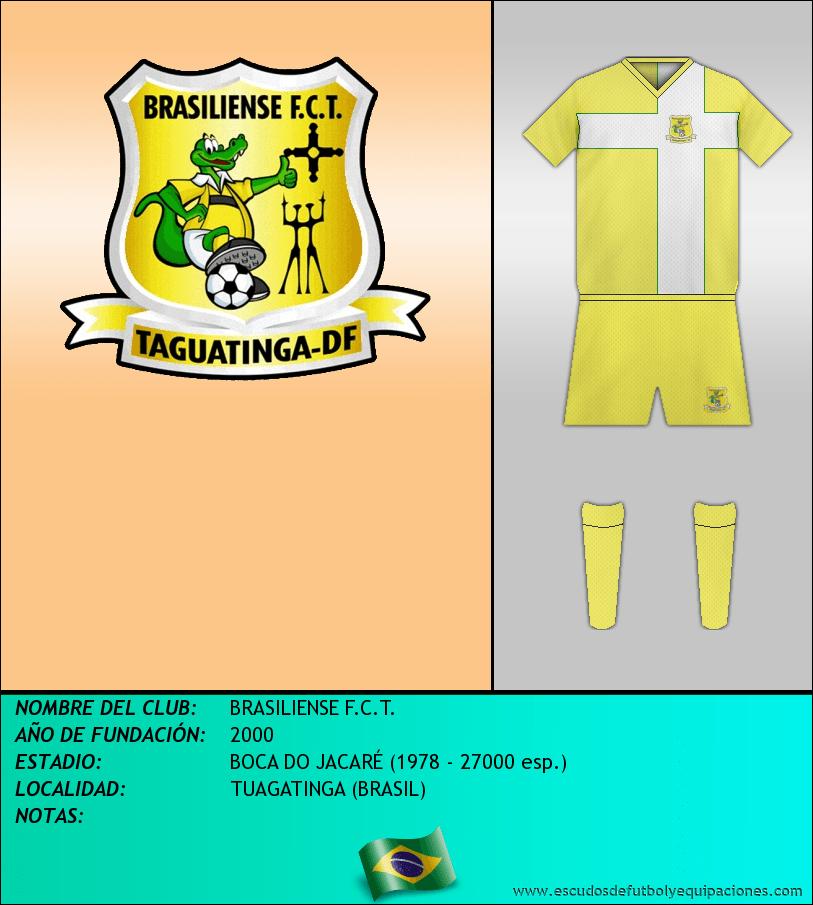 Escudo de BRASILIENSE F.C.T.