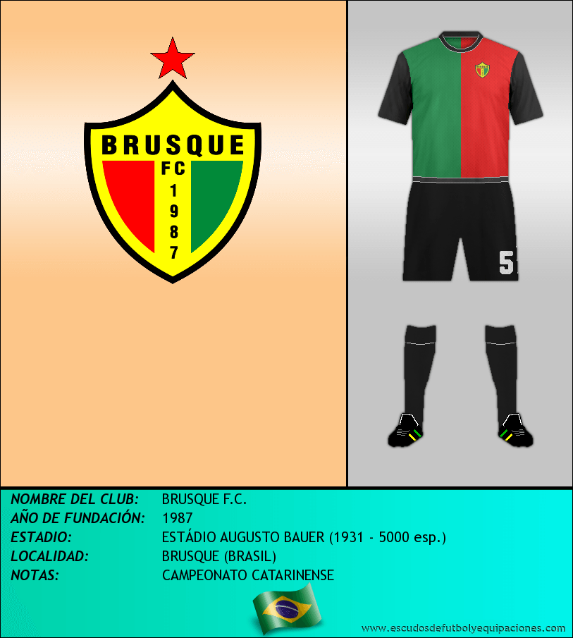 Escudo de BRUSQUE F.C.
