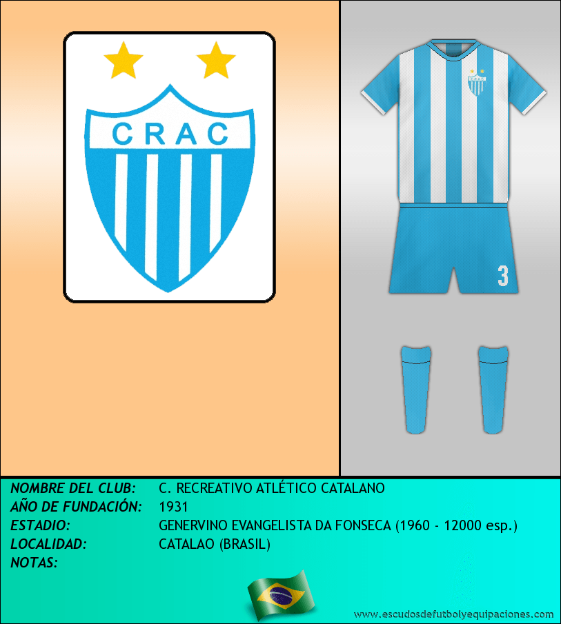 Escudo de C. RECREATIVO ATLÉTICO CATALANO