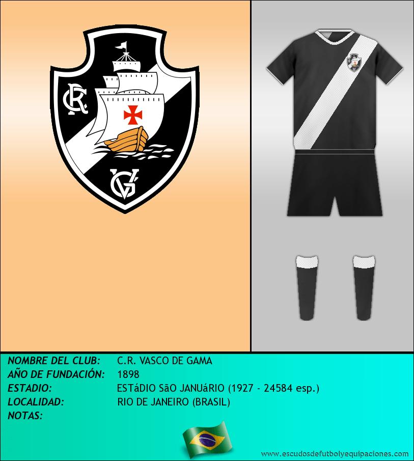 Escudo de C.R. VASCO DE GAMA