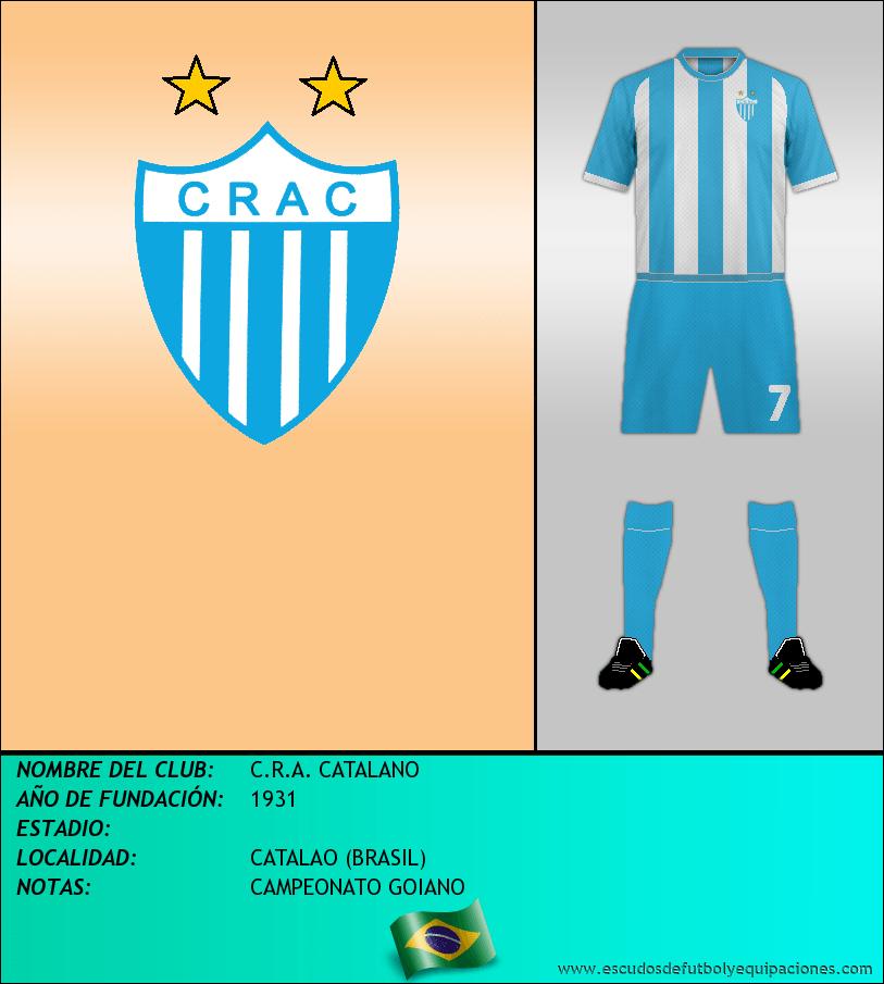 Escudo de C.R.A. CATALANO