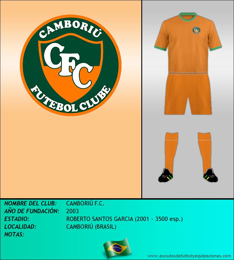 Escudo de CAMBORIÚ F.C.