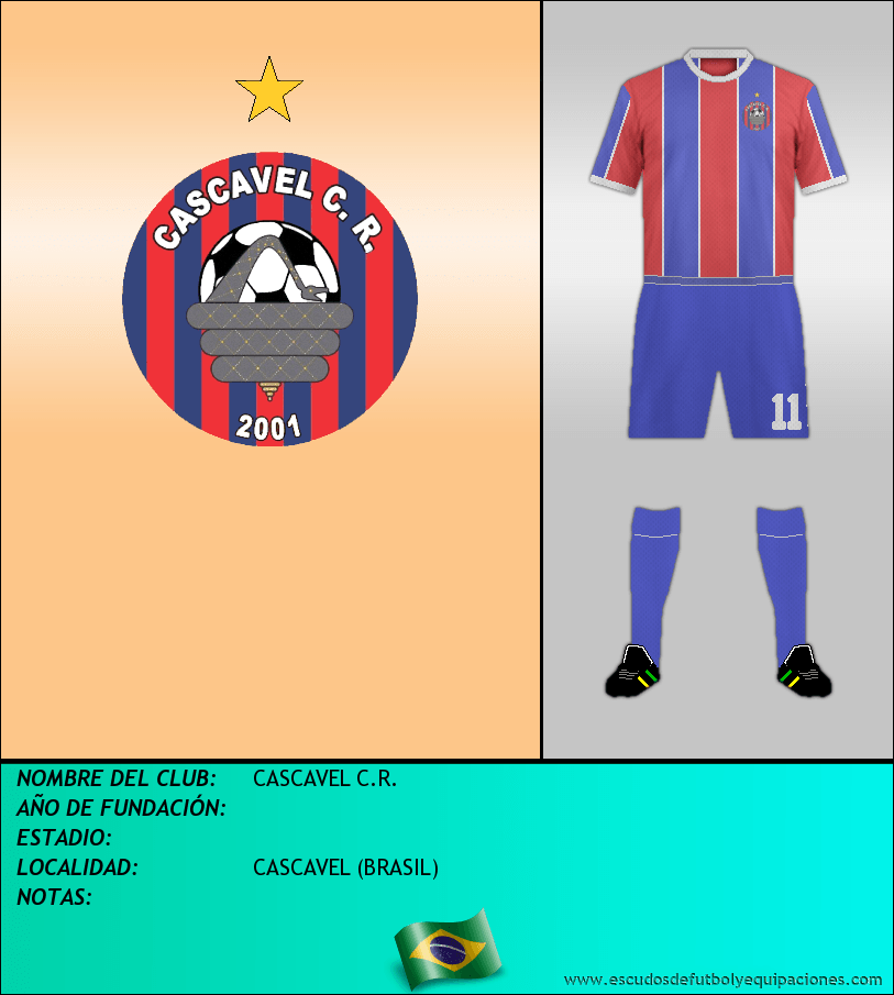 Escudo de CASCAVEL C.R.