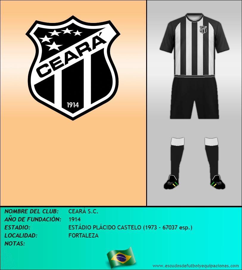 Escudo de CEARÁ S.C.