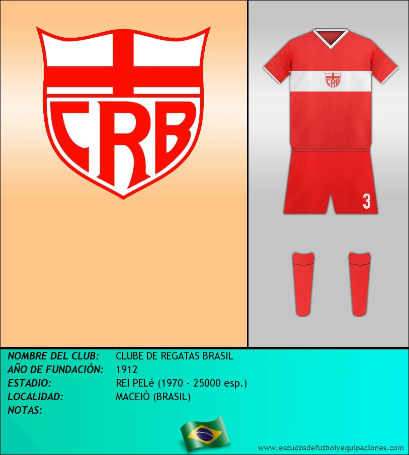 Escudo de CLUBE DE REGATAS BRASIL
