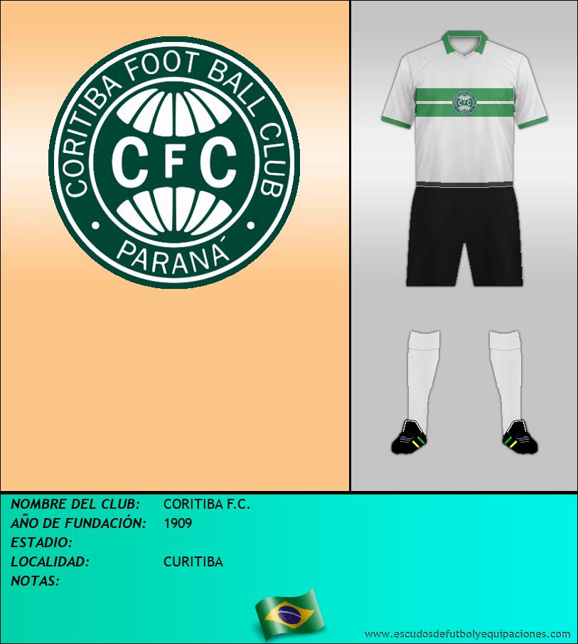 Escudo de CORITIBA F.C.