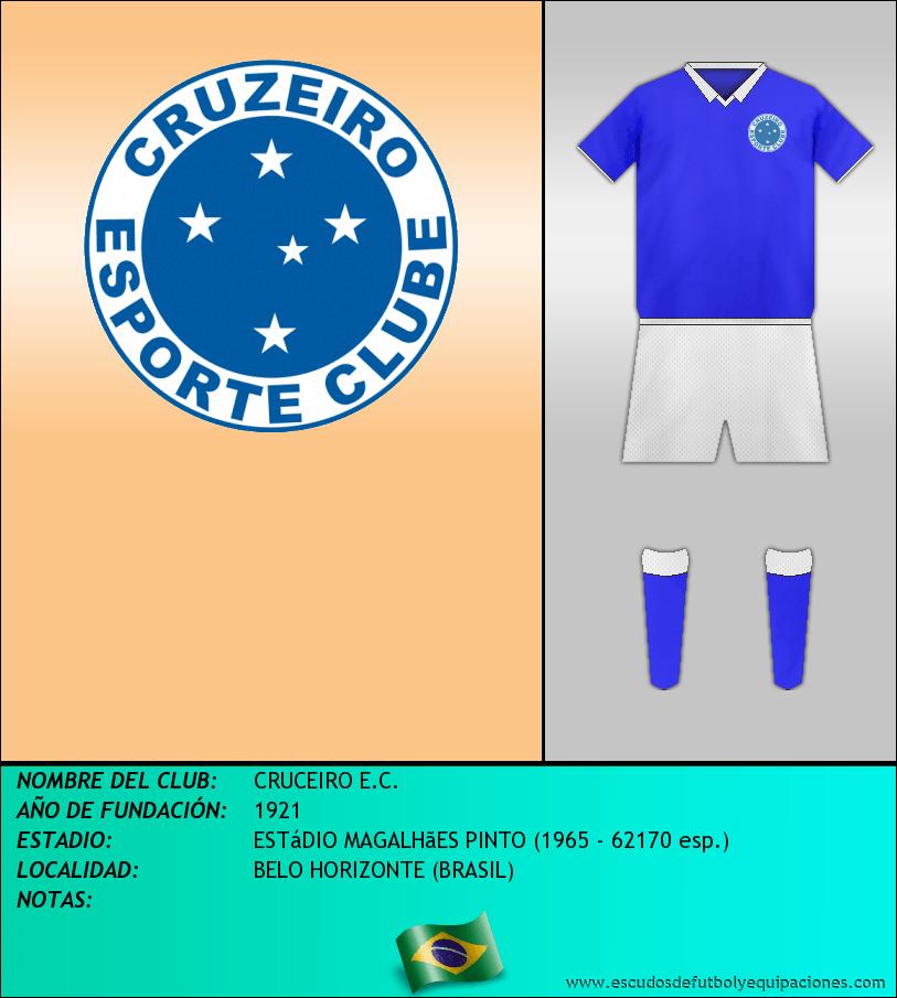 Escudo de CRUCEIRO E.C.
