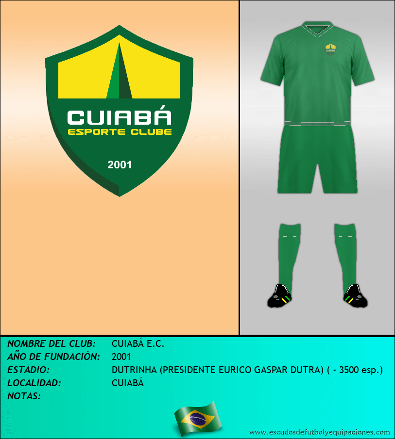 Escudo de CUIABÁ E.C.