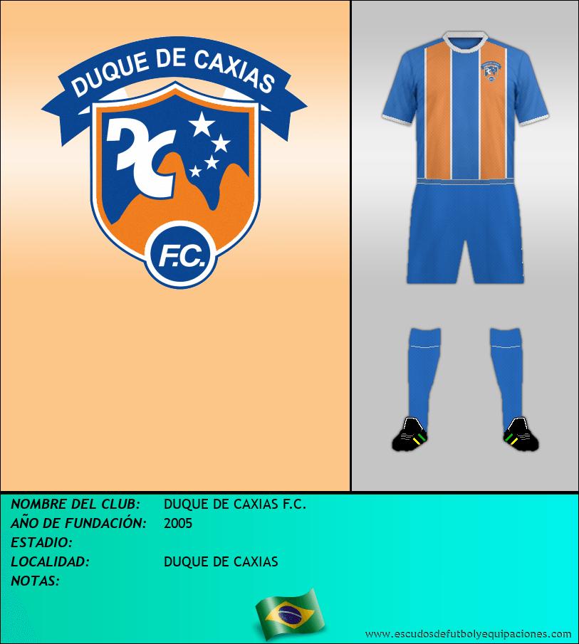 Escudo de DUQUE DE CAXIAS F.C.